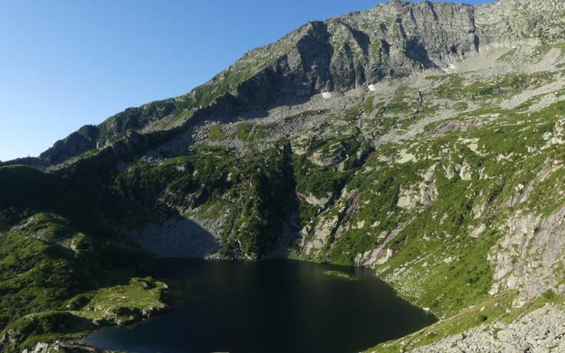 Lago e rifugio della Vecchia
