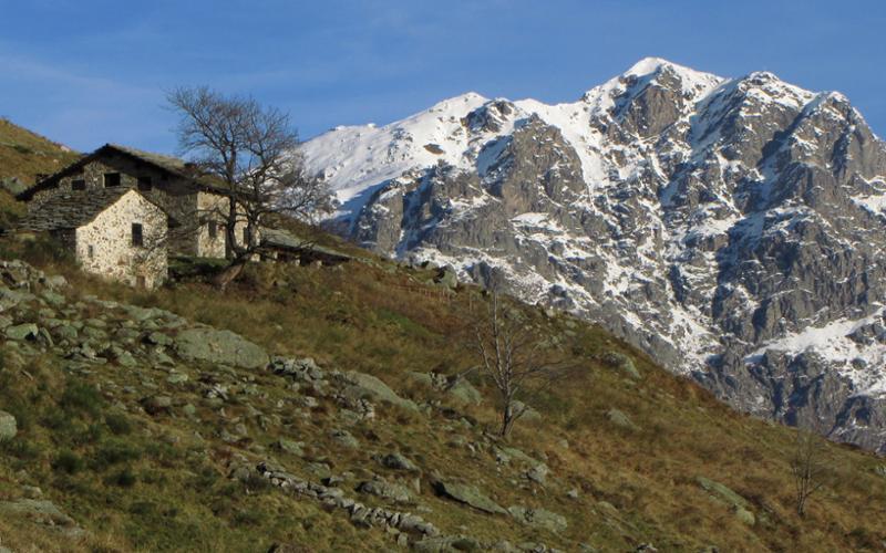 Alpe Cavanna da località La Bossola
